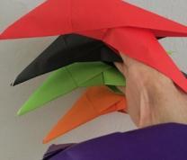 Origami with Ms. Shiu-hwa