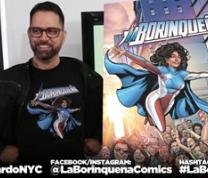 QPL Comics: Graphic Novelist & Creator and Writer of La Borinqueña: Edgardo Miranda-Rodriguez