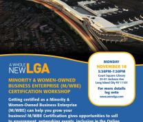 Minority and Women-Owned Business Enterprise Certification Workshop
