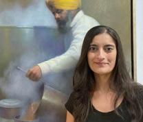 Women's History Month:  When Art Speaks...Artist Manu Kaur Saluja